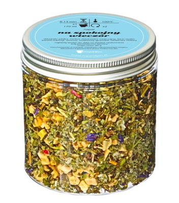 чай травяной успокаивающий - На спокойный вечер
