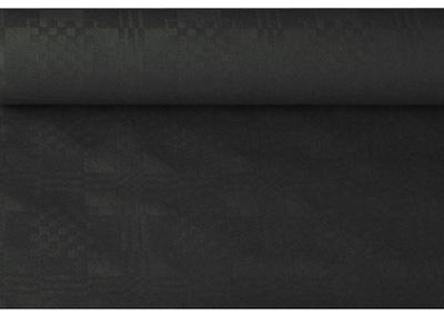 Скатерть бумажную Черный ролик 1 ,2 x 6m