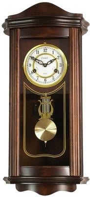 Zegar Castel wiszący ścienny drewniany mechaniczny