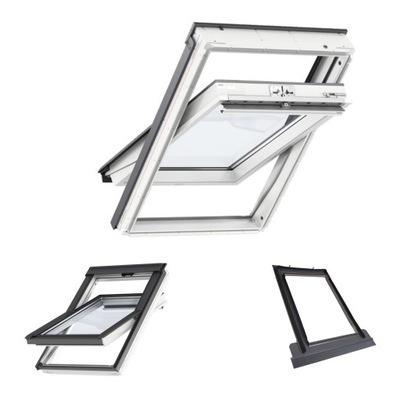 Окно крыши VELUX GLU 0061 78x140 MK08 + EDZ Dls
