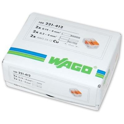 WAGO rýchly konektor 221-412 100 KS