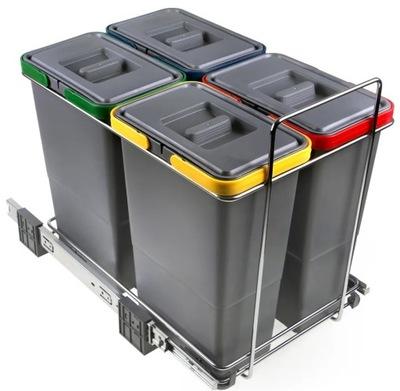 Сортировщик на мусор ECOFIL PF01 34B3 4 ведра