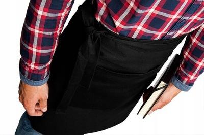 Zapaska kelnerska фартук Черный 52см с карманом