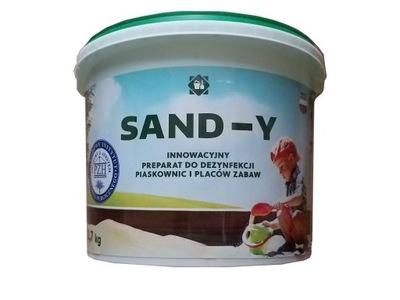 SANDY PIESKU-Y DEZINFIKOVAŤ PIESKOVISKO, PIESOK 2,7 KG