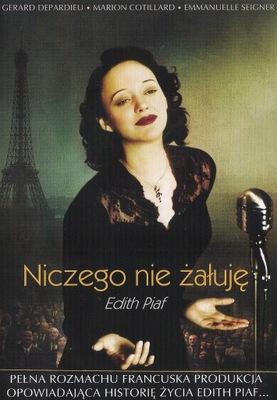 NICZEGO NIE ŻAŁUJĘ Film o Edith Piaf DVD FOLIA