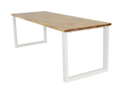стол , ТАБЛИЦ для ГОСТИНУЮ , Ясень , металлические НОГИ