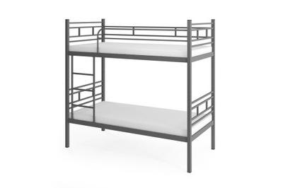 кровать КРОВАТЬ металлические AGNES Серые 90 ОТСЕКАМИ