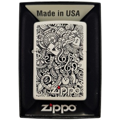 Зажигалка ZIPPO Gambling Коллаж Дизайн