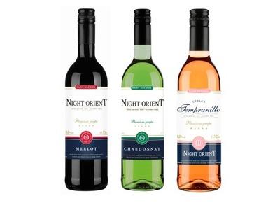 вино Безалкогольные напитки 3x Night Восточный Ноль ,Ноль % - комплект