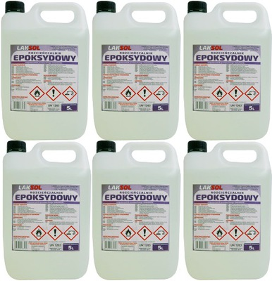 Rozcieńczalnik EPOKSYDOWY EPOXYDOWY KARTON 6 x 5L