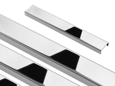 Планка  Стали блеск Хром 2 ,3x89,5 STEEL