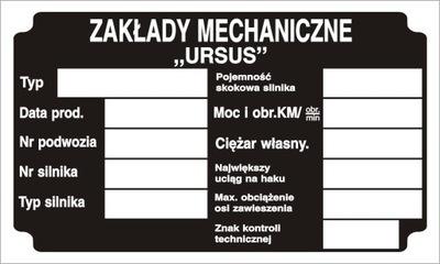 URSUS C355 C355 C360 C4011 TABLA LIMPIA