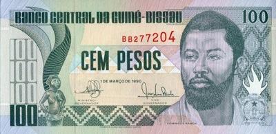 Гвинея-Бисау 100 Нужно D . Рамос 1990 P-11