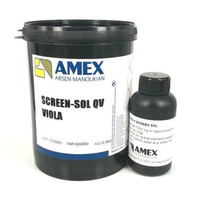 Emulsja światłoczuła do sitodruku 0,9kg Amex