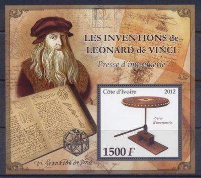 Изобретения L . da Vinci [4 ] печатный станок #WKS1224