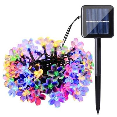 50 LED  огни солнечное Сада декоративные освещение
