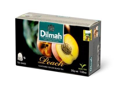 Dilmah чай черная Brzoskwiniowa 20шт х 1 .5g