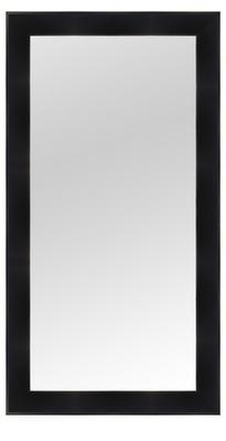 зеркало в раме 130x50 белое Венге черные венге микс