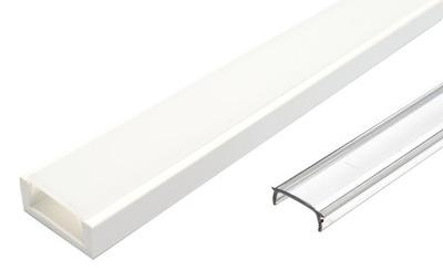 Профиль LED Белый 2м ??? лент LED 8 10 мм + АБАЖУР