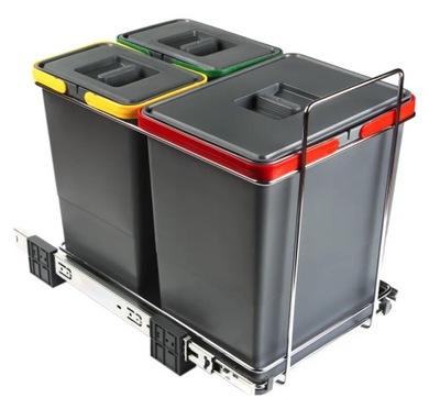 Сортировщик мусора ECOFIL PF01 34B1 3 ведра +