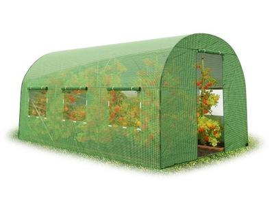 Туннель ФОЛИЕВОЙ садовый ТЕПЛИЦА 2х4 ,5м Plonos
