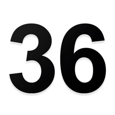 Номер на дом, нумерация адрес цифра 3D 23см цвета