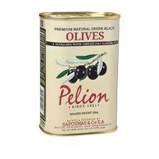 PELION, Оливки черные Giant из Греции, 430g