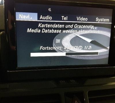 MERCEDES W204 NTG4 DVD MAPAS EUROPA V16 2019