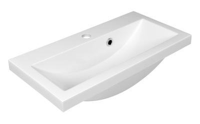 Umývadlo Malé úzke umývadlo 60x31 Alte 60 Biele zapustené