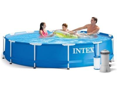 Rack bazén 366x76 s filtrom čerpadla 28212