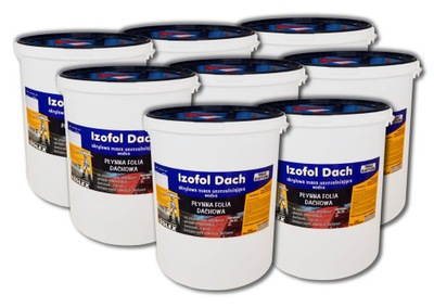 Izofol Dach | kvapalina film izolácie strechy: 200 kg