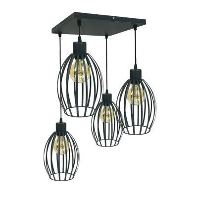 TIENI PRÍVESOK svetlo stropné svietidlo LOFT PRIEMYSELNÉ LED
