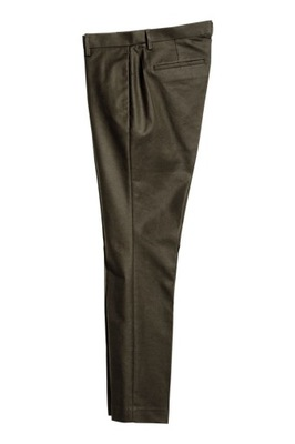 H&M Spodnie garniturowe SLIM FIT rozm.50, M