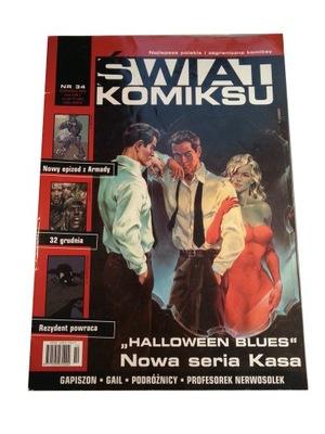 ŚWIAT KOMIKSU nr 34 - 2003 r.