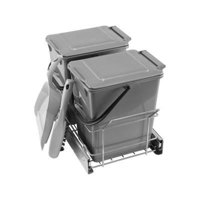 Связыватель Корзина для мусора выдвижной на направляющих