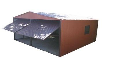 ГАРАЖИ ЖЕСТЯНЫЕ гараж ВОРОТА BLASZAKI На размер 6x6
