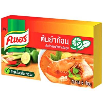 Кубики в слитках Том Ям, остро-кислый 24g - Knorr