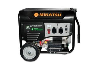 Бензогенератор бензин /??? Mikatsu YFG3500DE
