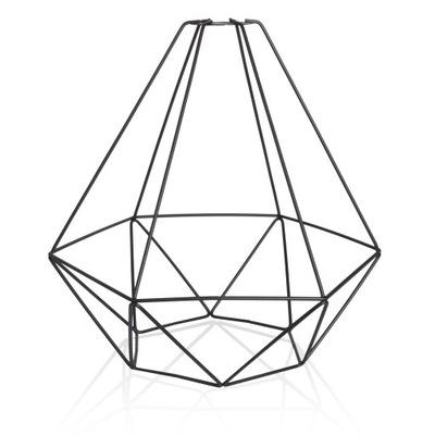 Большой Алмаз E27 чердак железную Черный плафоном