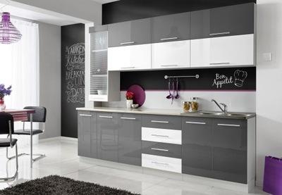 МЕБЕЛЬ Кухонные ! Кухня ИВОНА S 2 ,6м ! блеск !