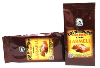 кофе растворимая ?? вкусом карамельный