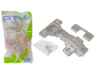 Zawias meblowy GTV PRESTIGE samodomyk nakładany