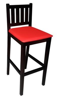Hoker kuchenny H 74 wysokie krzesło do baru krem