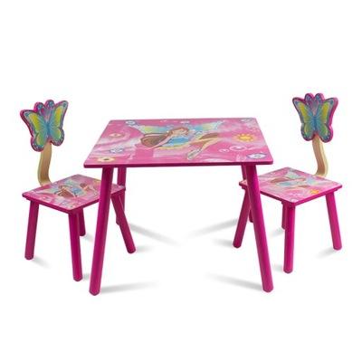 Set stôl a dve stoličky pre deti UC121420
