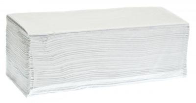Osuška, uterák - RĘCZNIKI Papierowe RĘCZNIK ZZ BIAŁY KARTON 4000