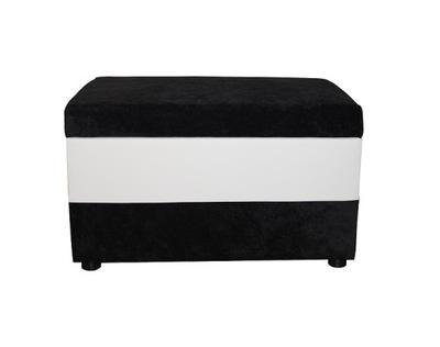 Pufa MAX prostokątna otwierana kufer z pojemnikiem