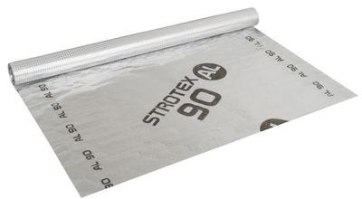 пленка пароизоляционная strotex aluminowa al 90