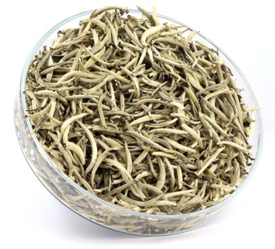 чай белая SILVER NEEDLE настоящая вершины TIPS