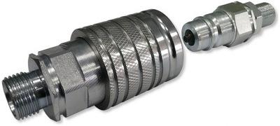 комплект быстроразъемным соединениям Евро Гнездо вилка LONG M18