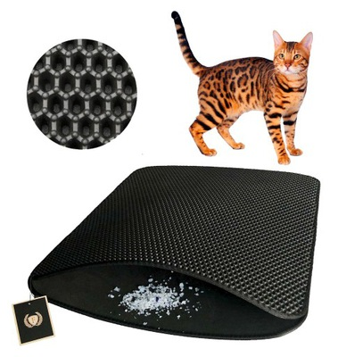 Rohová rohož FLLUFFY Cat 40x50